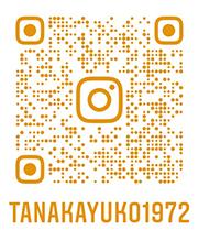 田中裕子 instagram QRコード